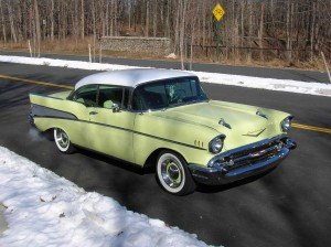 1957 Chevrolet Belair 013 300x224 Way Back Wednesday: The Chevy Bel Airs Golden Years
