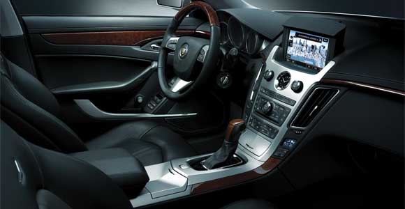 ctsinterior Cadillac CTS Coupe: The 2011 Wonder