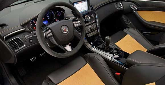 ctsvinterior Cadillac CTS Coupe: The 2011 Wonder