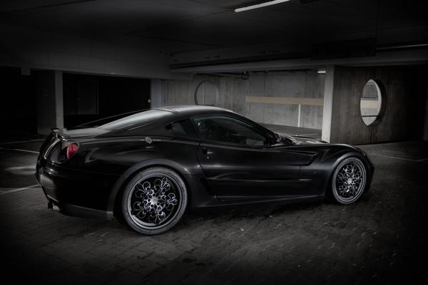 comte noir ferarri Dream Car: Ferrari 599 GTB Fiorano Comte Noir