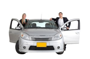 couple in car 300x199 15 Ways to Get the Most Cash When Selling Your Car
