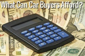 What Can Car Buyers Afford 300x198 Used Car Loan Payment Calculators   For Car Sellers