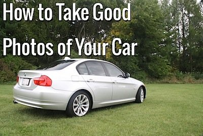 take good photos 2 How to Take Good Photographs of Your Vehicle