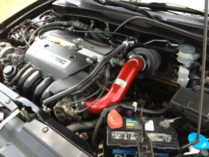 acura steam cleaned engine 300x225 How to Clean Your Engine Compartment