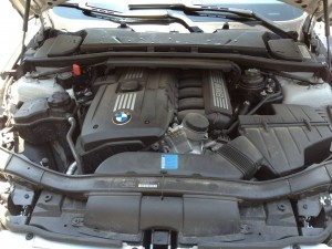engine before 300x225 How to Clean Your Engine Compartment