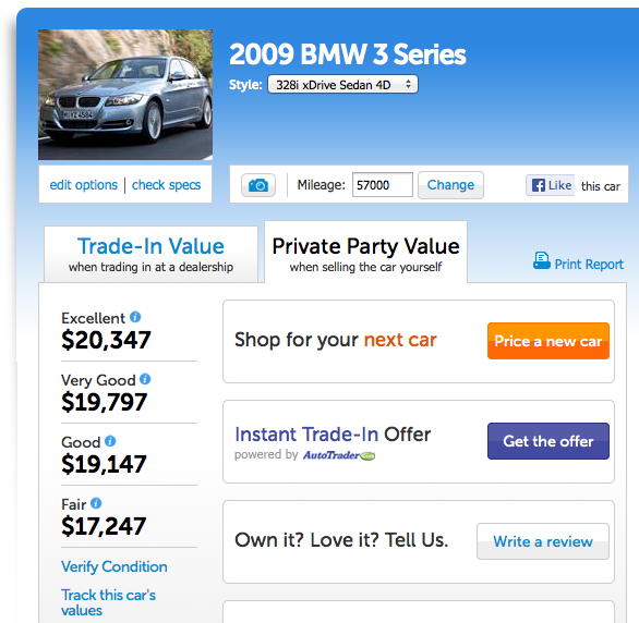 kbb bmw How to Price a Used Car to Sell