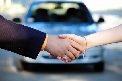 sale of vehicle
