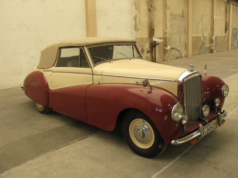 Way Back Wednesday: The Bentley MK VI