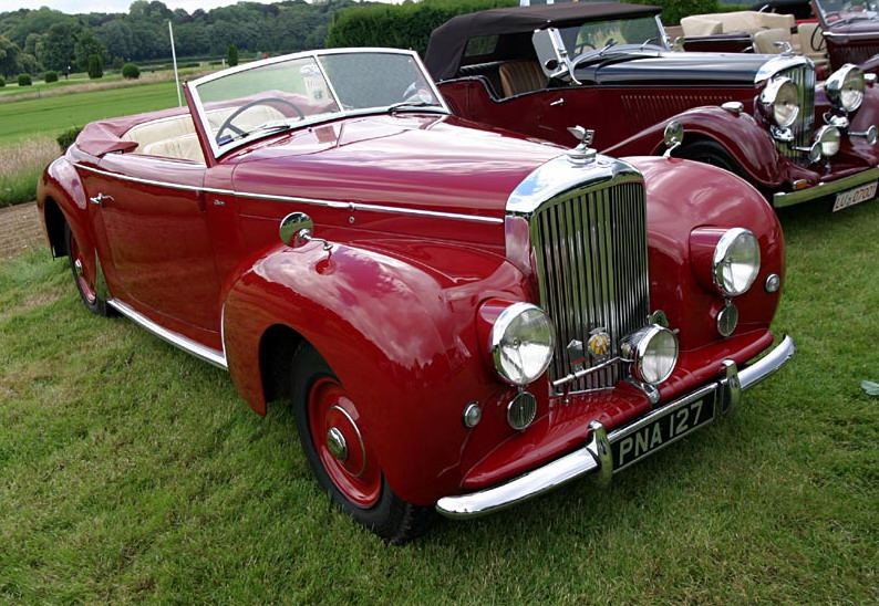 398668Bentley Mk VI Standard Steel Saloon Way Back Wednesday: The Bentley MK VI