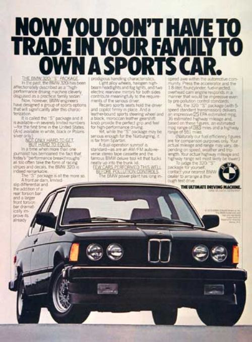 44282180s vintage ads 0 Way Back Wednesday Gallery: Vintage 80s Car Ads