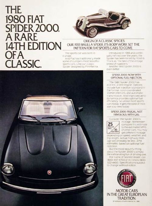 44282180s vintage ads 13 Way Back Wednesday Gallery: Vintage 80s Car Ads