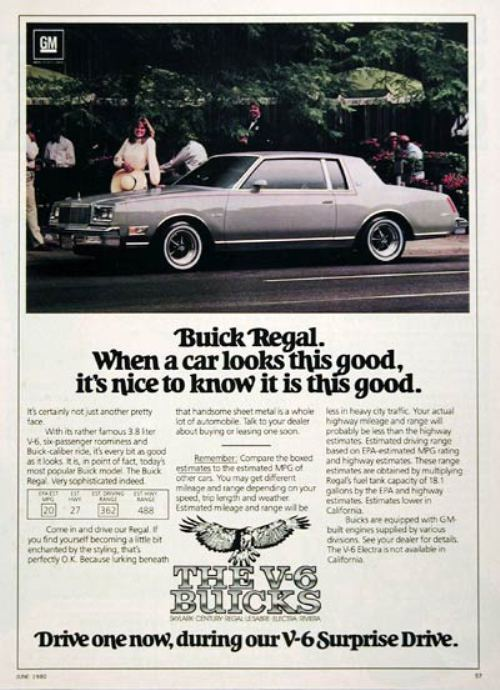 44282180s vintage ads 2 Way Back Wednesday Gallery: Vintage 80s Car Ads