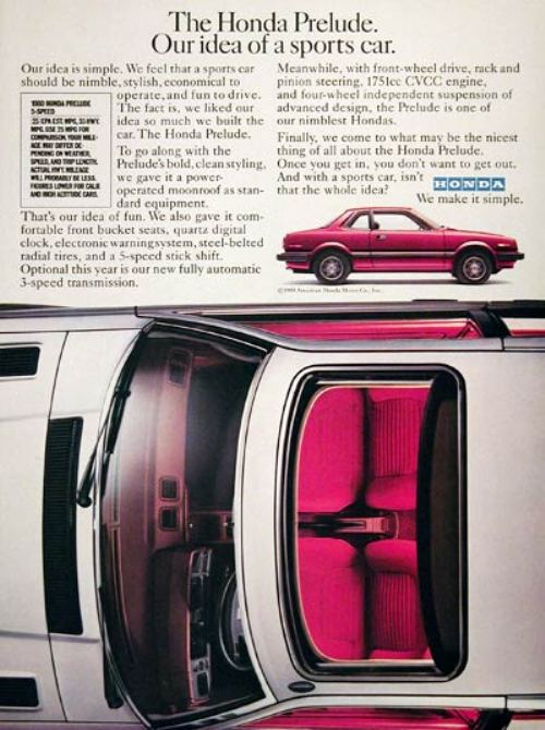44282180s vintage ads 20 Way Back Wednesday Gallery: Vintage 80s Car Ads