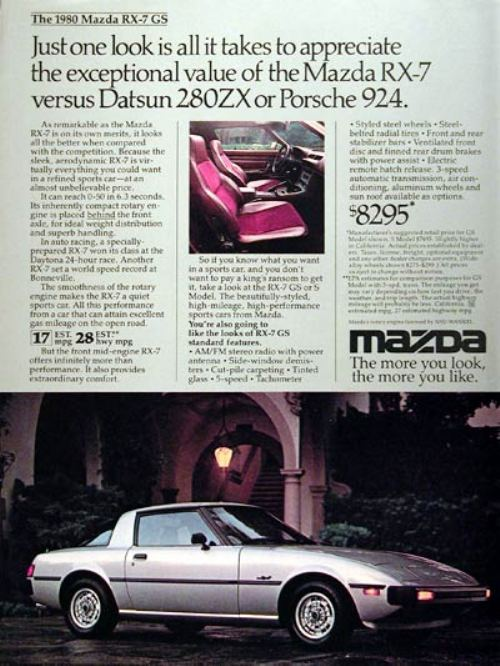 44282180s vintage ads 24 Way Back Wednesday Gallery: Vintage 80s Car Ads