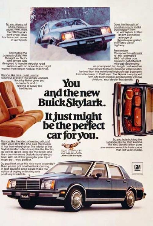 44282180s vintage ads 3 Way Back Wednesday Gallery: Vintage 80s Car Ads