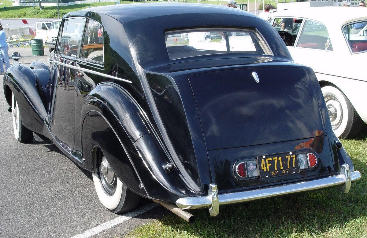 3986681947 Bentley MK VI Sports Saloon b ra lr Way Back Wednesday: The Bentley MK VI