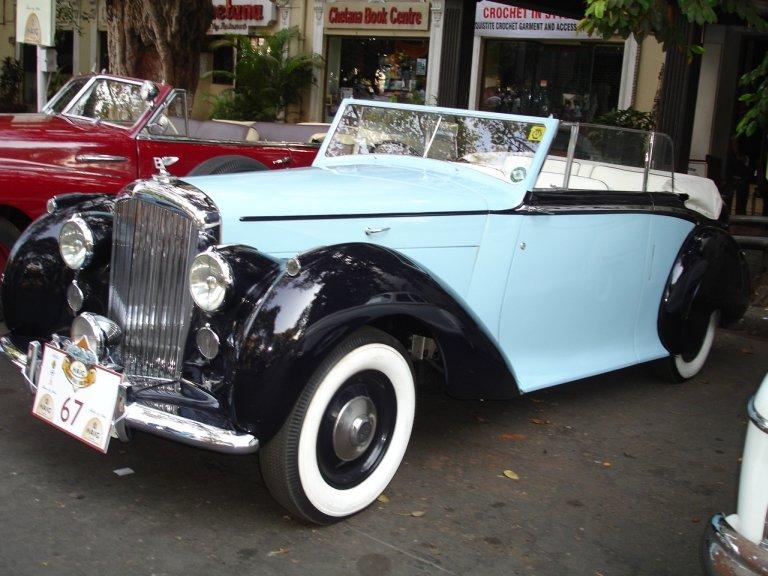 39866861343 Way Back Wednesday: The Bentley MK VI